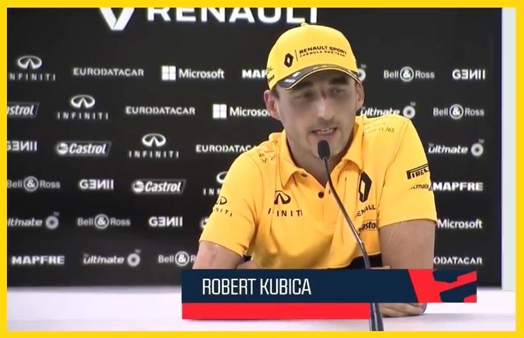 Robert Kubica dla Eleven Sports o zakończonych testach Formula 1 na węgierskim Hungaroringu