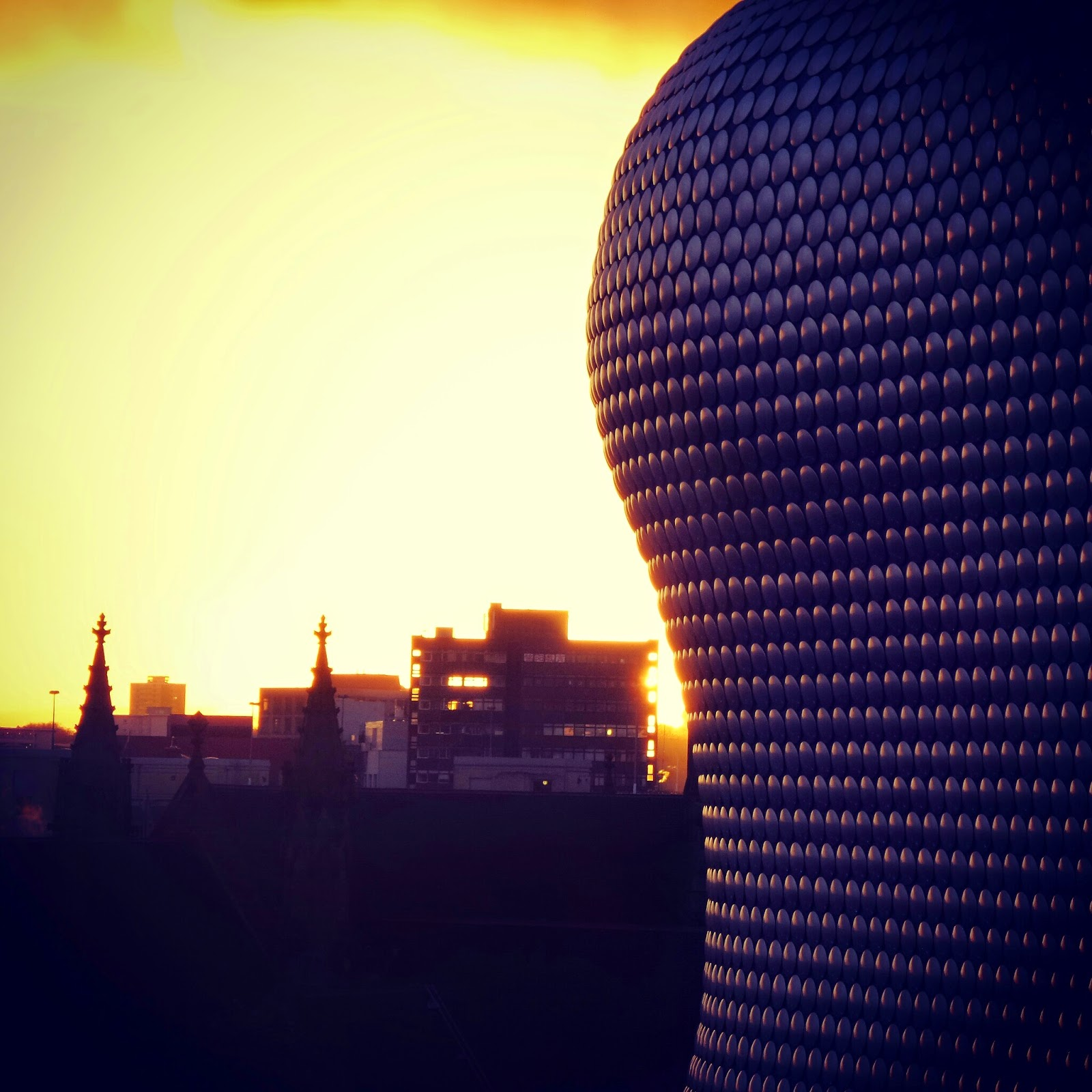 Birmingham at Sunset