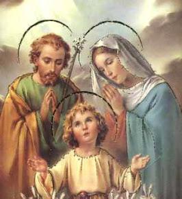 ♥ Jesus Maria e José ♥ Minha Família vossa é