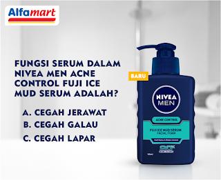 Pengumuman Pemenang NIVEA MEN Acne Control Fuji Ice Mud Serum #SimpleNoPimpleSAT Miniquiz Periode 1