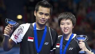 Tontowi Ahmad dan Lilyana Natsir menjadi unggulan pertama Swiss Open
