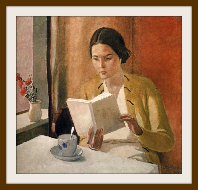 La jeune femme au livre