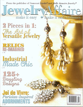 Featured In Jewelry Affaire Magazine