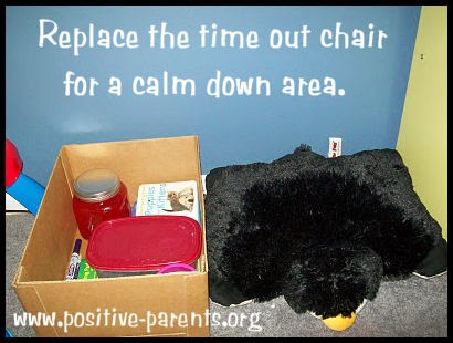 Replace The Time Out Chair For A Calm Down Area