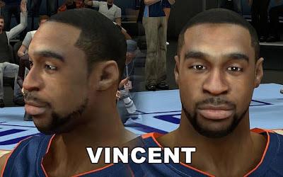 NBA 2K13 Charlotte Bobcats Reggie Williams Cyberface