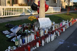 Mitch Lucker Vigilia Sitio del accidente