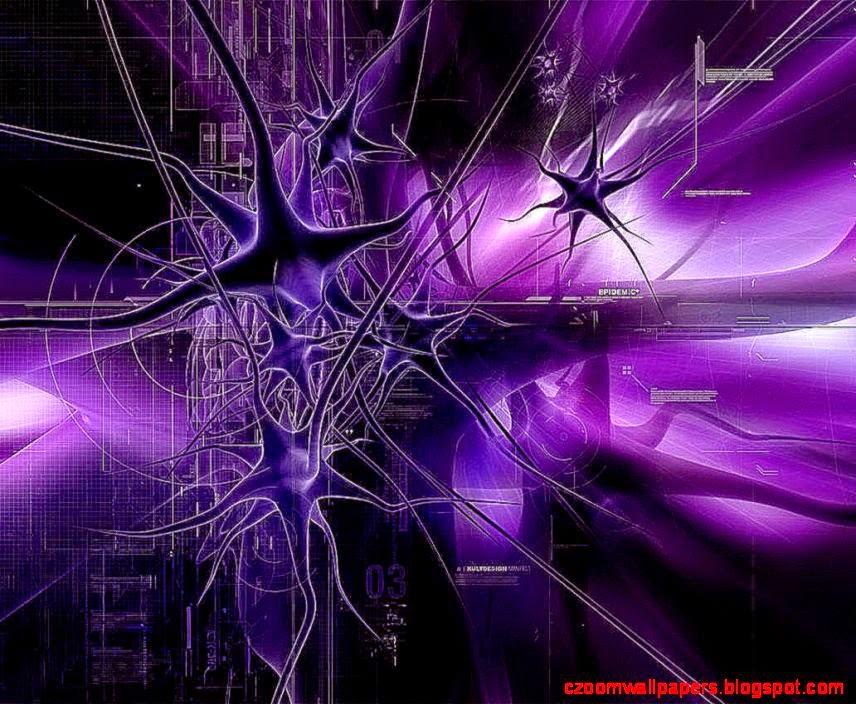 purple abstract virus HD wallpaper android  Wallpicshd