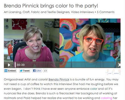 Screenshot of Monica Lee Interviewing Brenda Pinnick through a webcam