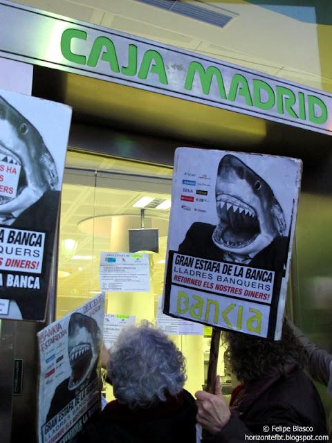 Manifestación preferentes Barcelona