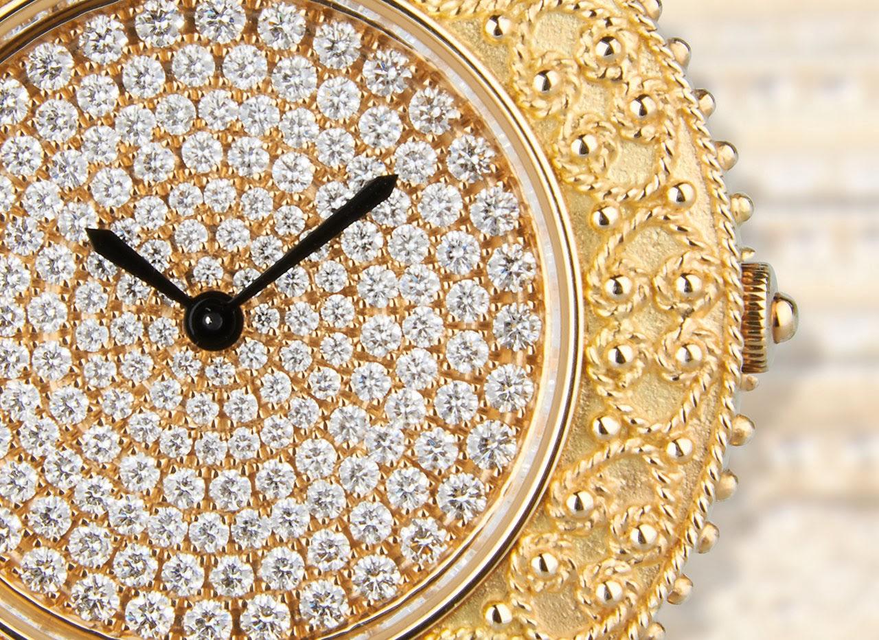 Matthia's & Claire Etrusca Watch close up