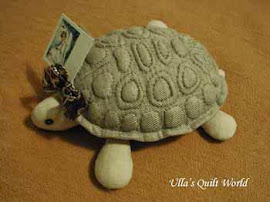 Trapunto turtle + PATTERN