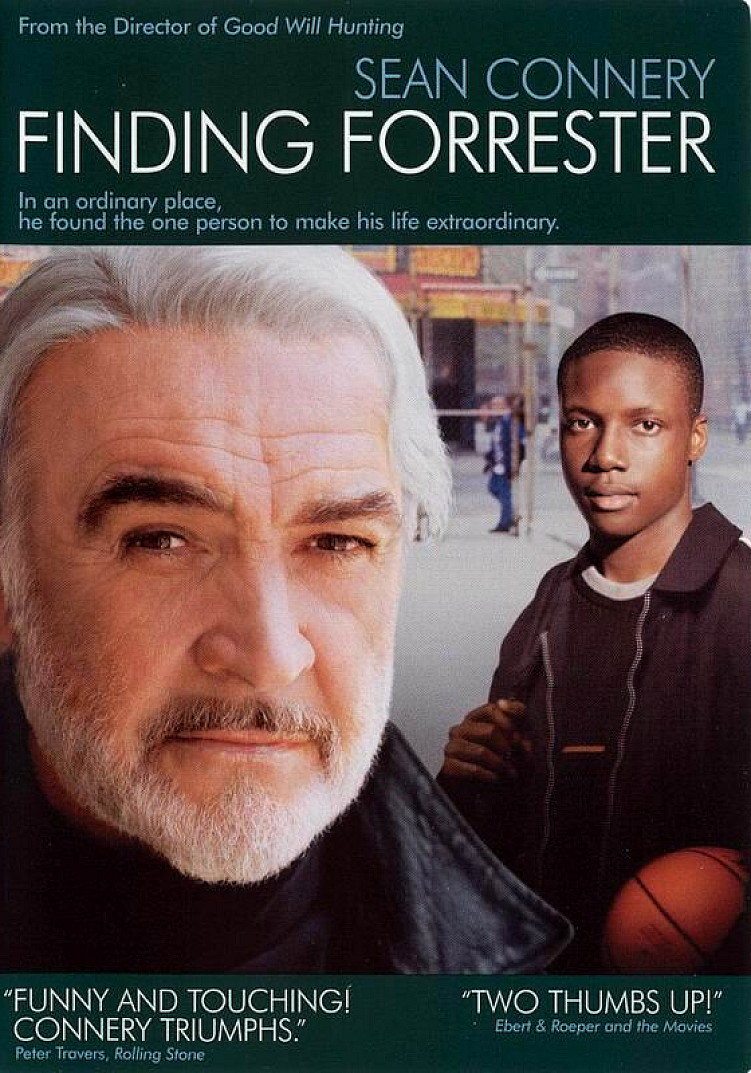 marco carnovale  film review recensione finding forrester 2000 by gus von sant