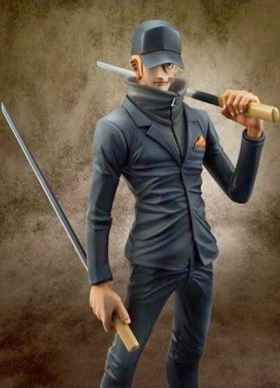 Portrait of Pirate, Marco, Kaku, Figurine, Figurine, Goodies, One Piece,