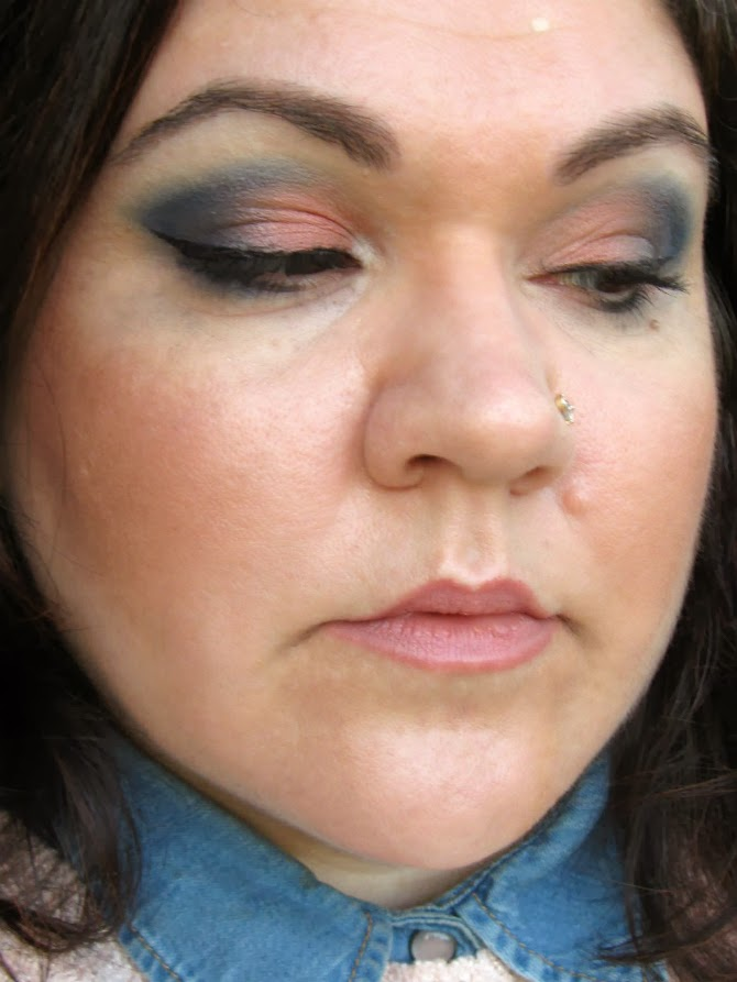 fotd ecobio trinacria e it's a boy da palette makeup delight