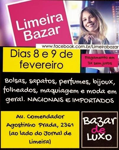 Evento de moda - Limeira Bazar