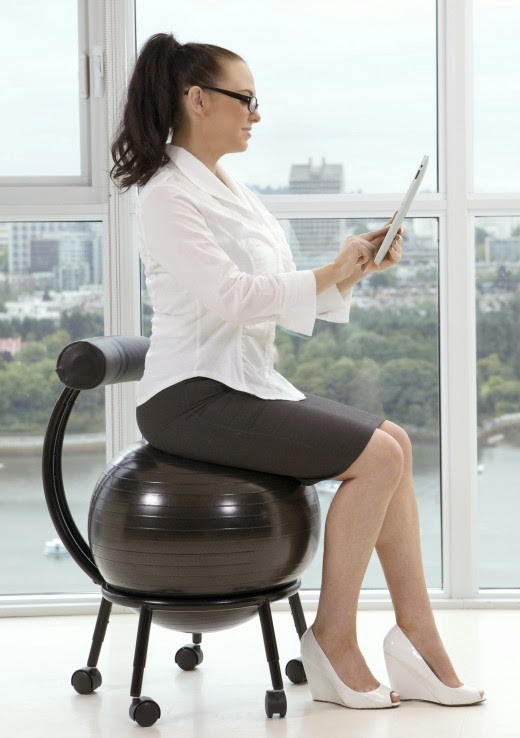 Vivaoffice try some easy workout with office chairs for Sitting easy chairs