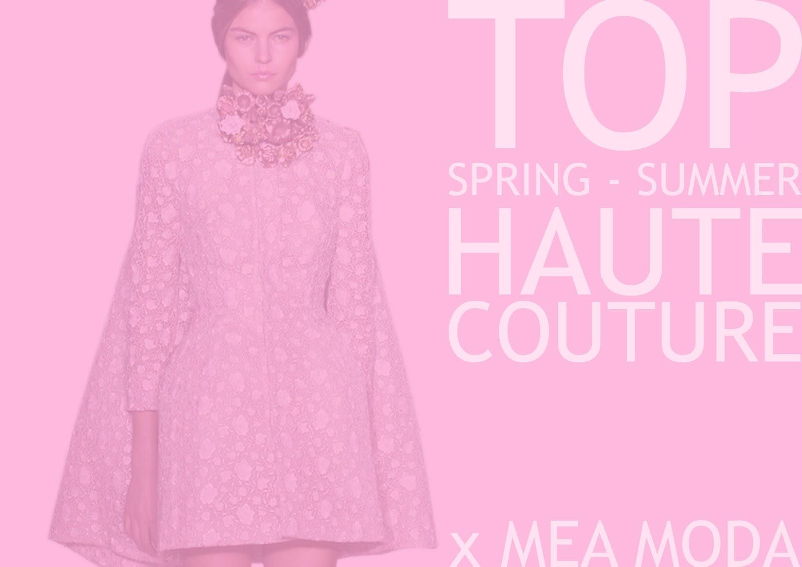 Mea moda seleccionados x mea moda top 3 haute couture 2013 for Haute couture tops