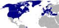 Carte de l'OTAN