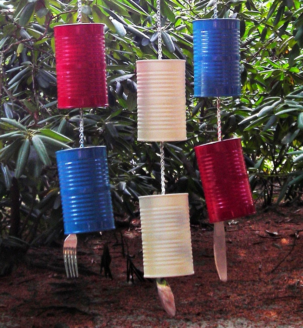 How to recycle recycled wind chimes for Wind chimes from recycled materials