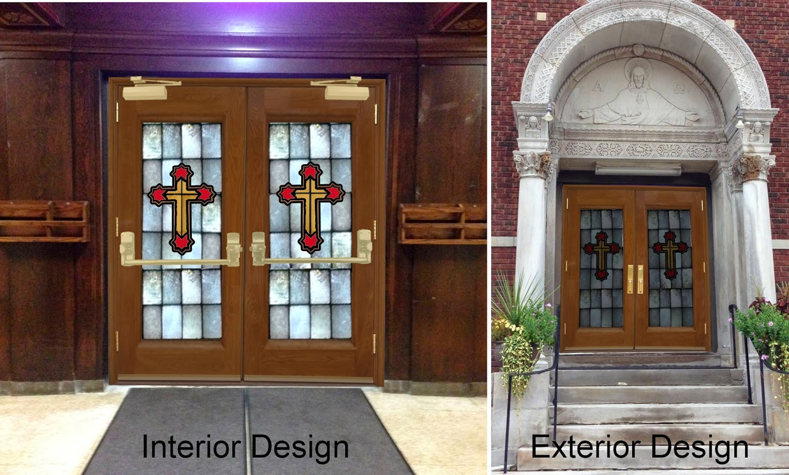 New church exterior designs joy studio design gallery best design for Exterior glass doors for churches