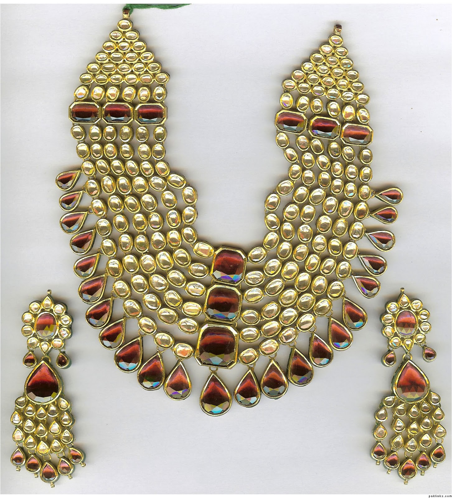 Indian Wedding Gold Necklace Jewellery Sets Gold Pendants: JEWELLERY DESIGNS: Latest Indian Gold And Bridal Jewelry