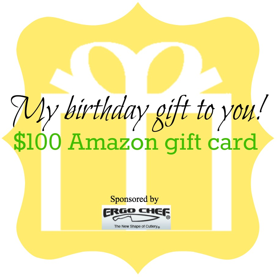 Enter to win a $100 Amazon Gift Card!