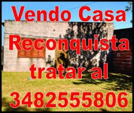 Vendo Casa Reconquista