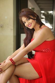 Ashwini Latest Pictures in Short Dress at Vinodam 100 Movie Press Meet ~ Celebs Next