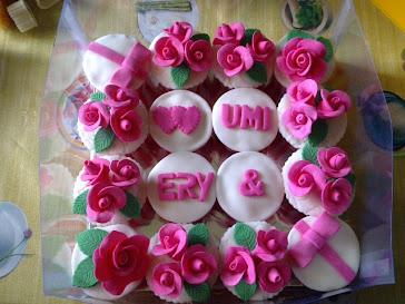 Hantaran Fondant Cupcakes