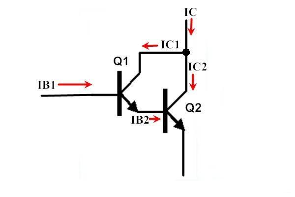 darlington transistor theory -basic electronics tutorial