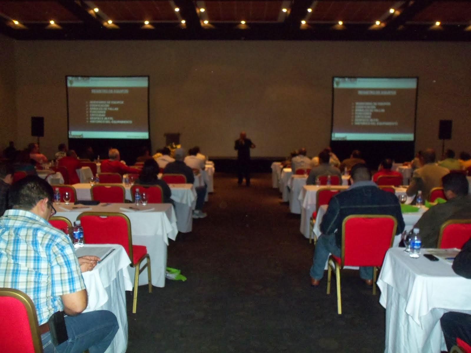 Mi ponencia en el Segundo Congreso  Latinoamericano de Gerencia de Activos COLAGA