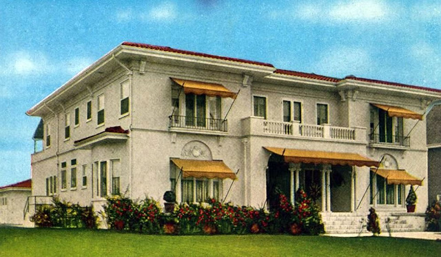 My love of old hollywood hollywood at home harold lloyd for Movie star homes beverly hills