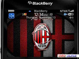 AC Milan - BlackBerry Theme