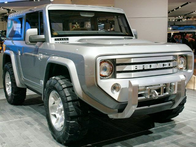 Sports Cycle 2015 Ford Bronco Concept