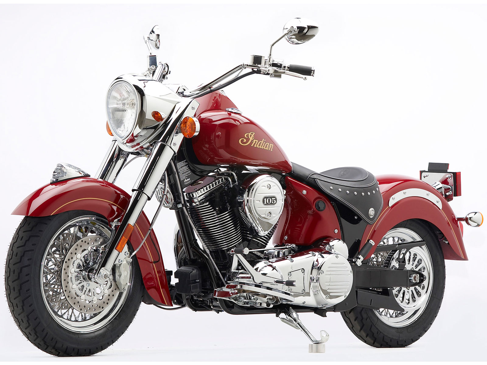 Indian Chief Motorcycle: 2012 INDIAN Chief Classic Motorcycle Desktop Wallpaper