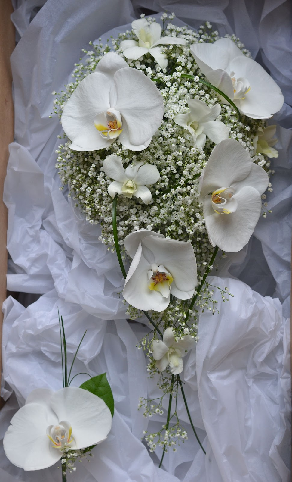 Orchid white wedding