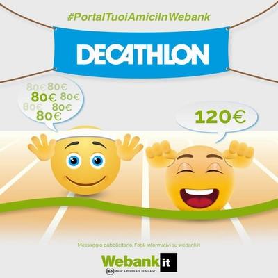 € 120 BUONI DECATHLON