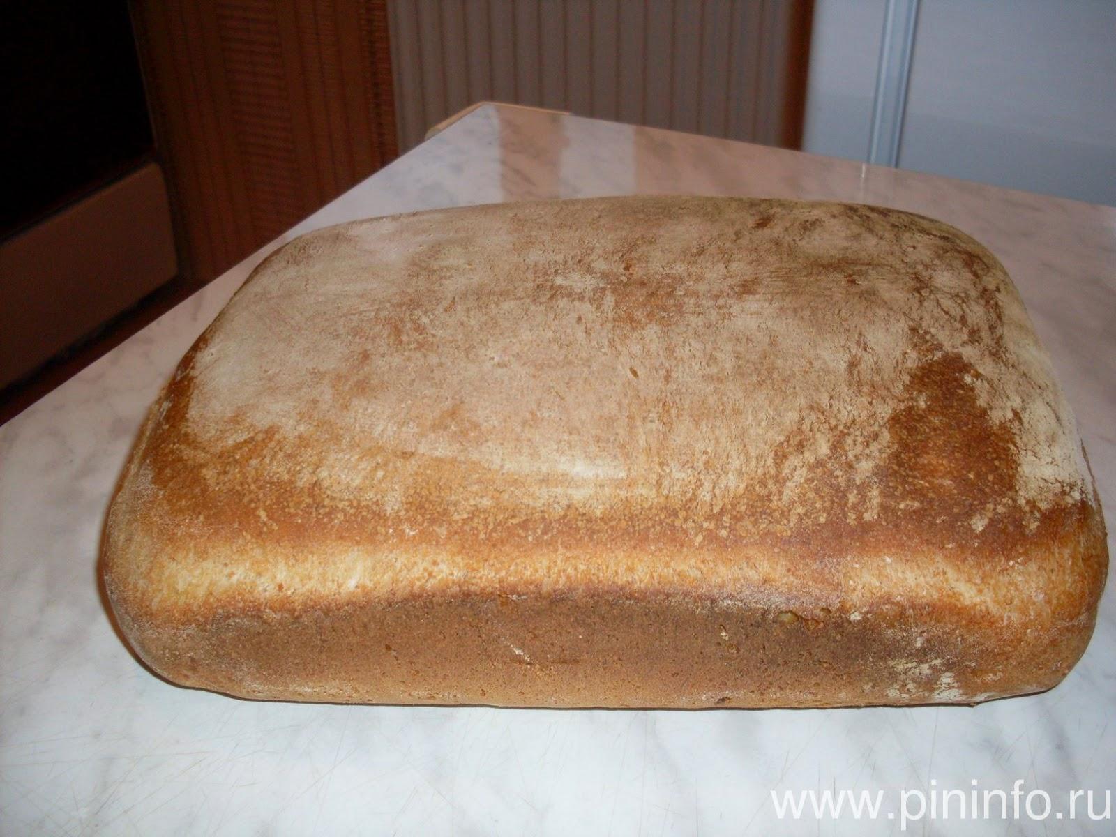 Хлеб на закваске с тыквенными семечками
