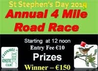 4 mile race in Clonmel, Tipperary