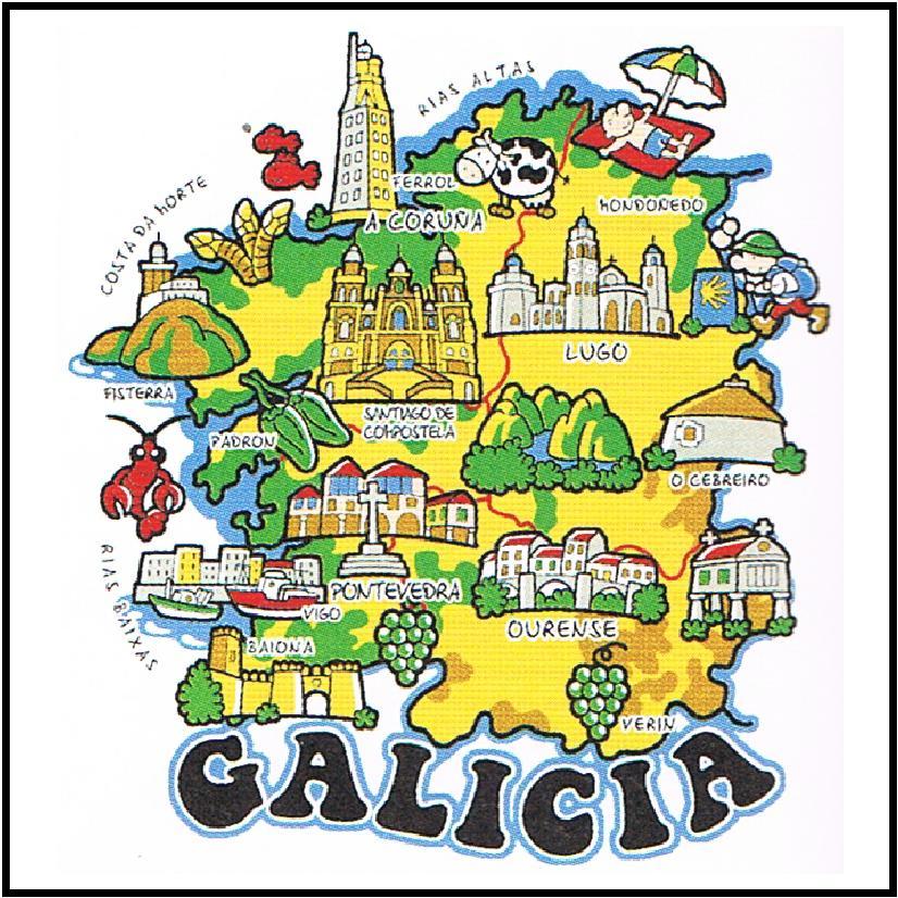 No caminho de compostela o mundo celta da gal cia - Turismo rural galicia con ninos ...