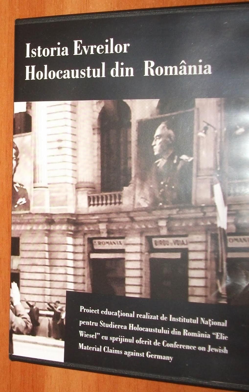 """Aspecte de la conferinţa de lansare a DVD-ului educuaţional - """"Istoria Evreilor"""", 17.12.2013..."""