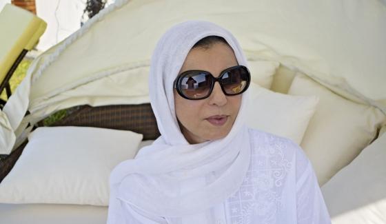 ليلى الطرابلسي في اول ظهور تلفزي على هذه القناة ..
