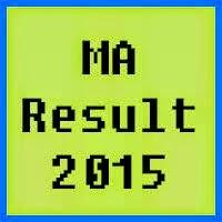 AJK University MA Result 2016, Part 1, Part 2
