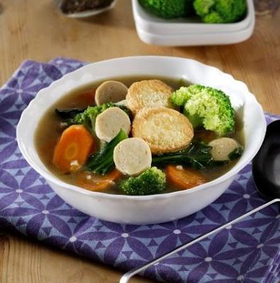 Resep Sapo Tahu Vegetarian Sederhana Enak