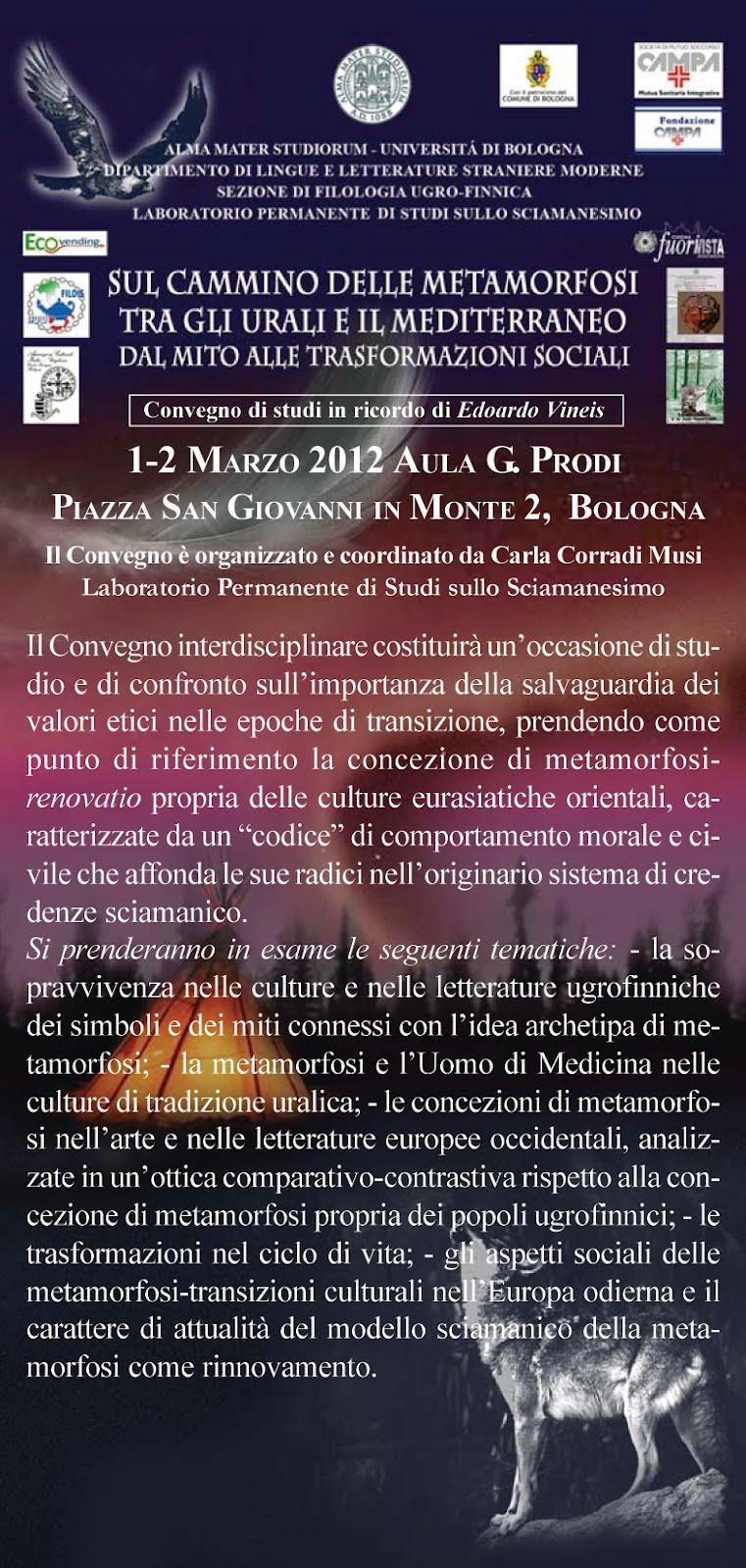 1 - 2 Marzo 2012 Ingresso Libero