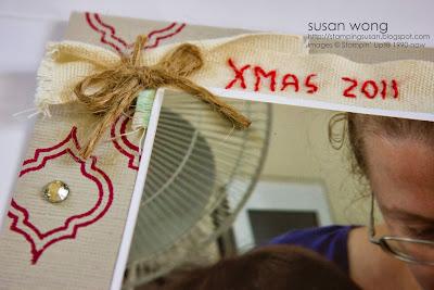 Susan Wong Xmas 2011 layout detail