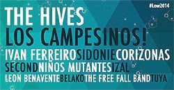 The Hives, Los Campesinos! y Sidonie al Low Cost Festival de Benidorm
