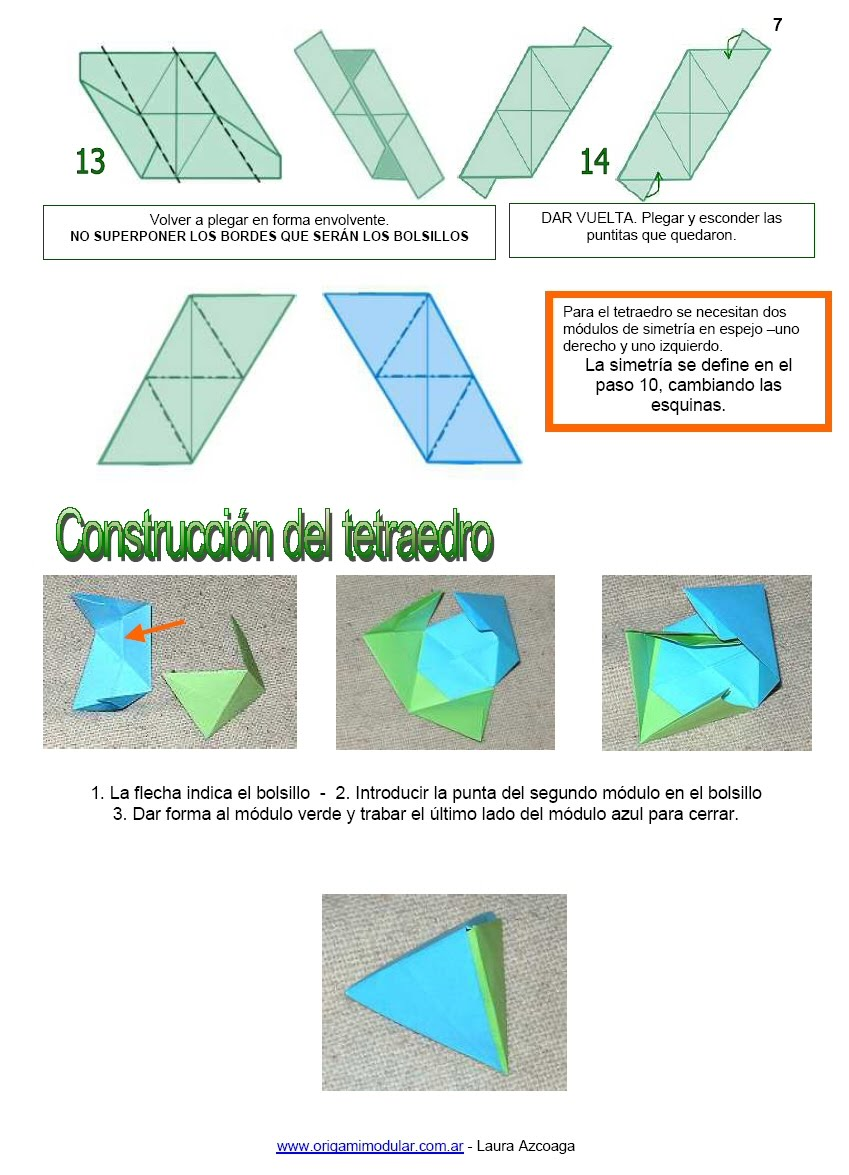 origami modular en argentina origami y geometr205a en el
