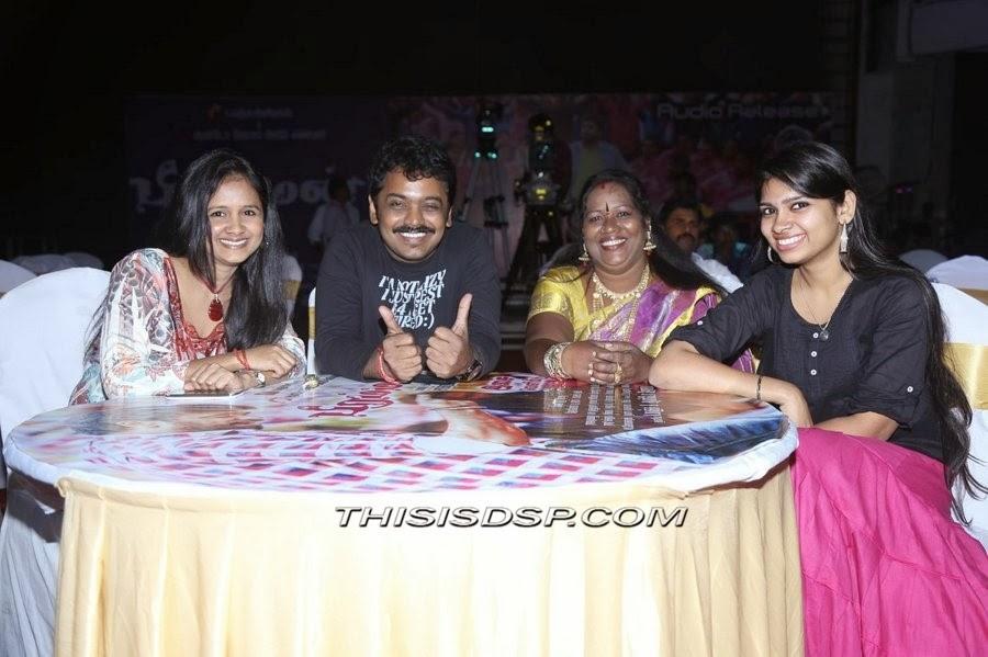 Singer Anita , Manikandan Balasubramanian , Singer Chinnaponnu , Singer Manasi at Bramman Audio launch