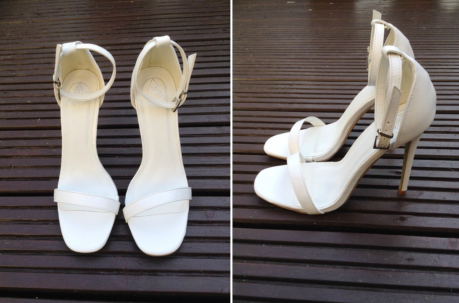 Barely There Sandal Heels